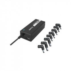 Laptop Charger TooQ TQLC-65BS02AT 65W 8 Connectors Black PC chargers