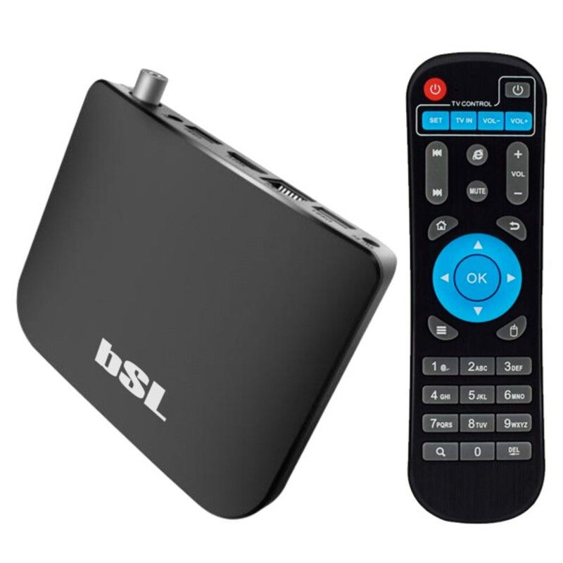 TV Player Android BSL ABSL-216DVBTS 8 GB WiFi Black Streaming TV