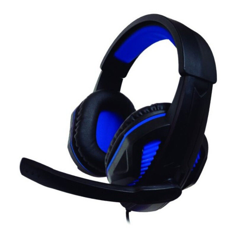 Gaming Headset with Microphone PS4/Xbox Nuwa ST10 Black Blue Gaming Headphones