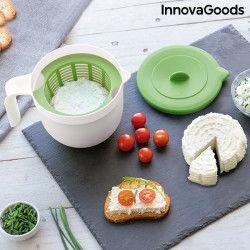 Form für Frischkäse mit Anleitung und Rezepten Freashy InnovaGoods Weiteres Zubehör und Kochgeschirr
