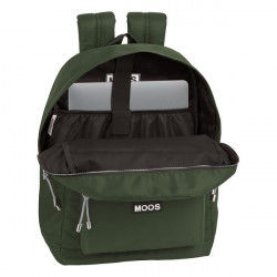 Laptop Backpack Moos 15,6'' Khaki Suitcases and bags