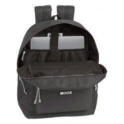 Laptop Backpack Moos 15,6'' Grey Suitcases and bags