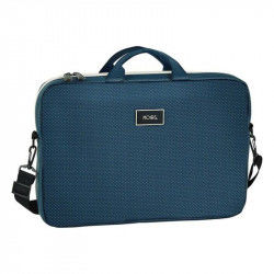 Laptop Cover Moos 15,6'' Blue Suitcases and bags