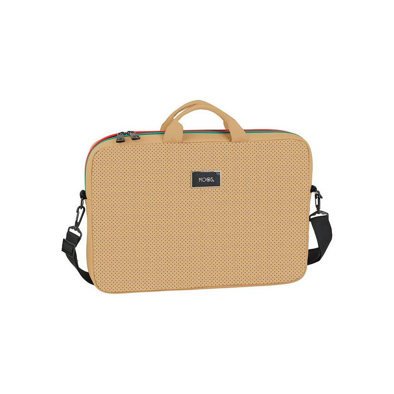 Laptop Cover Moos 15,6'' Camel Suitcases and bags