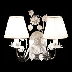Wall Light DKD Home Decor Polyester Metal Traditional (38 x 22 x 31 cm) Lamps