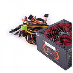 Gaming Power Supply approx! APP700PS 14 cm APFC 700W Black Red Gaming Power supplies