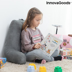 READING PILLOW WITH ARMRESTS HUGGILOW INNOVAGOODS Well-being and relaxation products