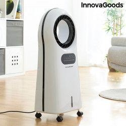 Refroidisseur d'air Portable, 4 en 1 Mobile Ventilateur Purificateur Humidificateur avec Réservoir D'eau 3l O-Cool InnovaGood...