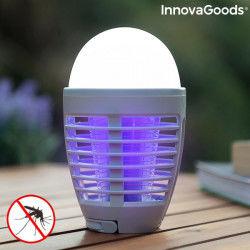 Lampada Antizanzare Ricaricabile con LED 2 in 1 Kl Bulb InnovaGoods InnovaGoods