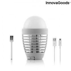 Anti Mücken Lampe Outdoor wiederaufladbare mit LED Kl Bulb InnovaGoods Schädlingsschutz