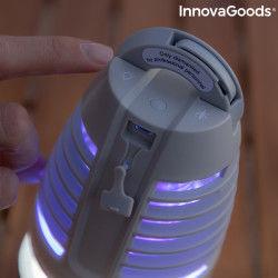 Lampe Antimoustiques Rechargeable à LED 2 en 1 Kl Bulb InnovaGoods  Répulsifs
