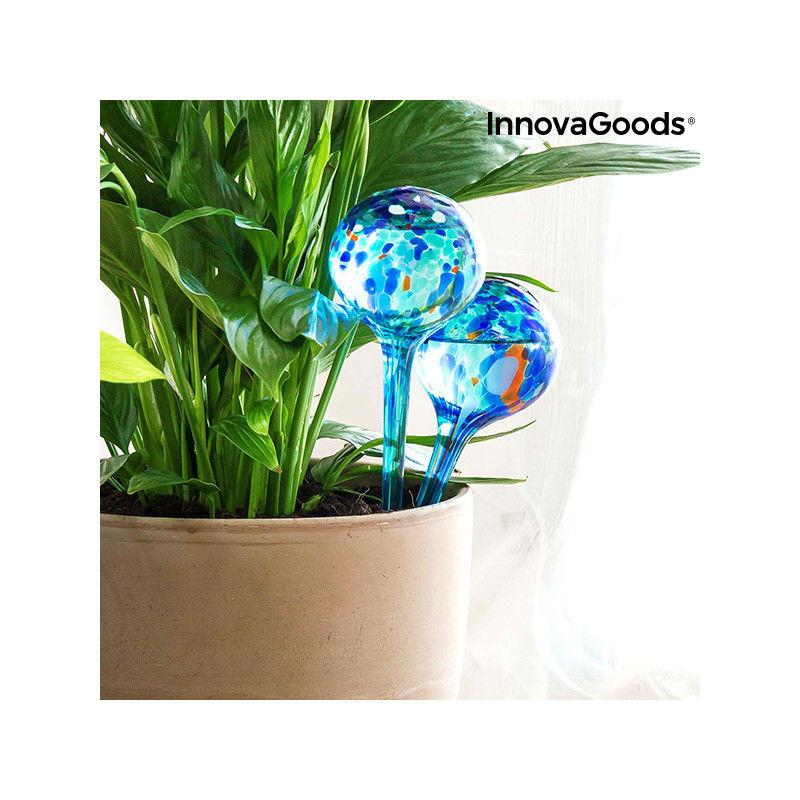 Bewässerungskugeln Topfpflanzen Aqua-loon InnovaGoods 2 Stk Gartenschläuche und Sprenkler