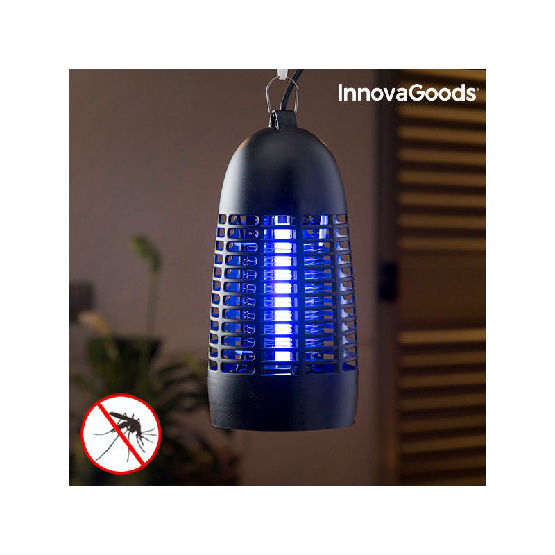 Anti-Mosquito Lamp KL-1600 4W InnovaGoods Black Insect repellers