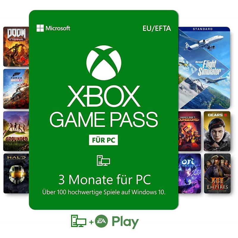 Xbox Game Pass für PC | 3 Monate Mitgliedschaft | Win 10 PC Code Software