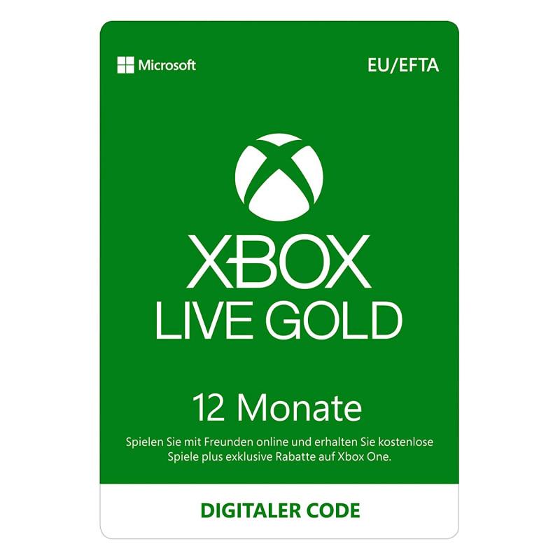 Microsoft Xbox Live Gold Membership 6 Months Download Code Microsoft